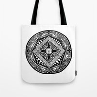 deco Tote Bags featuring Deco by ThisIsG1