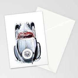 Retro car Stationery Cards