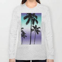 Alexandrite tropical palms Long Sleeve T-shirt