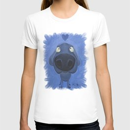 Weimaraner Love - Blue T-shirt