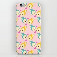deerly pattern iPhone & iPod Skin