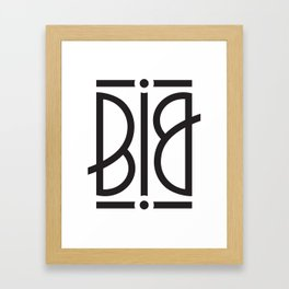 BIG Ambigram Framed Art Print