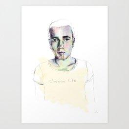renton. Art Print