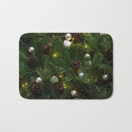 Festive Christmas Tree Bath Mat