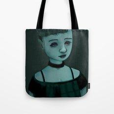 Night Girl II Tote Bag