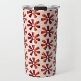 Ethnic african pattern.Adinkra simbols. Travel Mug