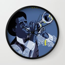 New Orleans welcomes you Wall Clock