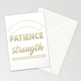 Christianity Church Faith Pastor Preacher God Jesus Believer Gift Lord Give Me Strength Funny Stationery Cards