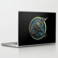 pacific rim Laptop & iPad Skins featuring Knifehead - Pacific Rim by Leamartes
