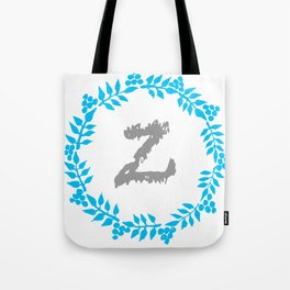 Z White Tote Bag