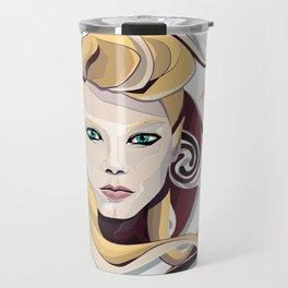 Queen Lagertha Travel Mug