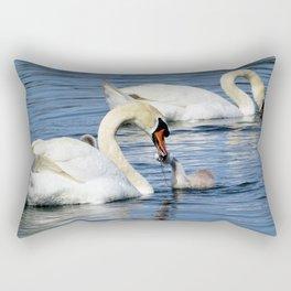 Swan's diner Rectangular Pillow