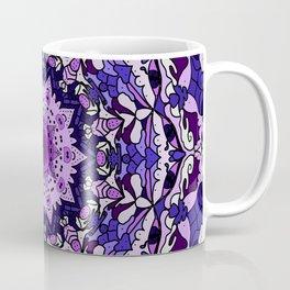 indigo aurora mandala Coffee Mug