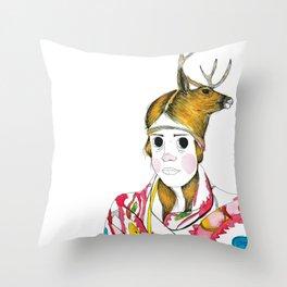 La Muerte Throw Pillow