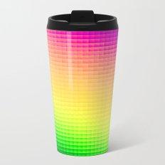 Pixels Metal Travel Mug