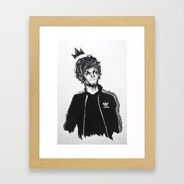 king addydas Framed Art Print
