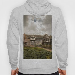 Cloudy Spring Day in an Old English Yard Hoody