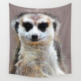 Suricate Wall Tapestry