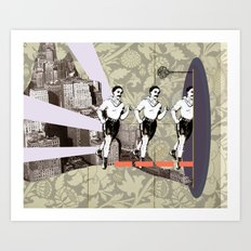 Escapement Art Print