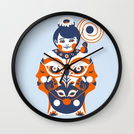 Gratified Wall Clock