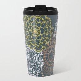 Metallic Mandalas Travel Mug