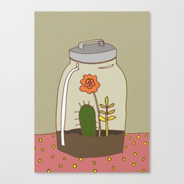 vivarium Canvas Print