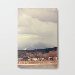 Flagstaff Metal Print
