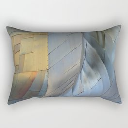 ARCH ABSTRACT 5: EMP Museum #2, Seattle Rectangular Pillow