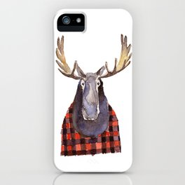 Cool Moose iPhone Case