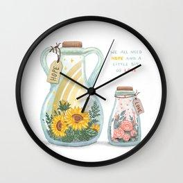 Love & Hope Wall Clock