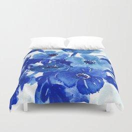 blue stillife Duvet Cover