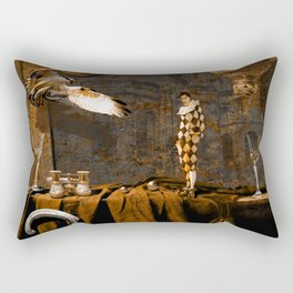 After theater (Gulliver in the giant country) Rectangular Pillow