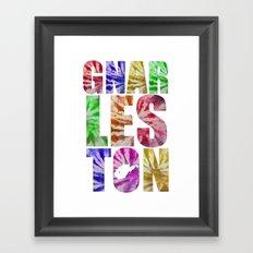 Gnarleston Tie-Dye Framed Art Print