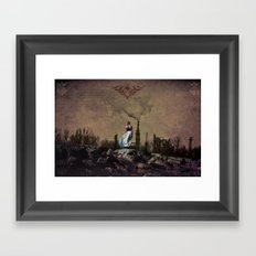 Dear Earth Framed Art Print