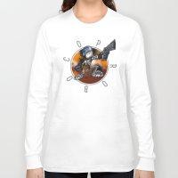 robocop Long Sleeve T-shirts featuring Robocop by alexviveros.net