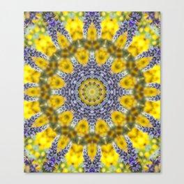 Lavender Star Canvas Print