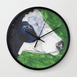A Cow Named Socks Wall Clock