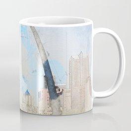Gateway Arch, Saint Louis USA Coffee Mug
