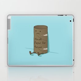 Needs Paper For Resume Laptop & iPad Skin