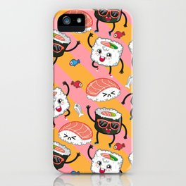 Sushi dance iPhone Case