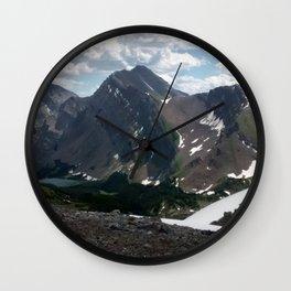 Ridge Line Wall Clock