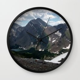Ridge Line Wall Clock