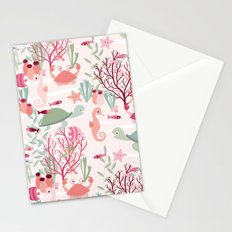 Life in the reef Stationery Cards