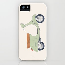 Italian Moto iPhone Case