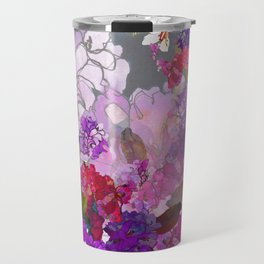 Purple Globes of Rhododendron  Travel Mug