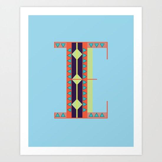 EE Art Print