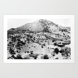 Santa Cruz County, Arizona. 1909 Art Print