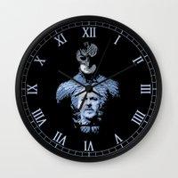 birdman Wall Clocks featuring The Birdman by LilloKaRillo