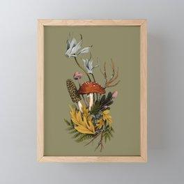 Autumnal Scene Framed Mini Art Print