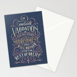 validation Stationery Cards